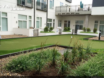 SYNLawn-artificial-grass-golf-apartment-community-putting-green