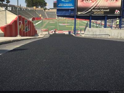 SYNLawn-artificial-grass-agility-fresno-state-football-entrance-ramp